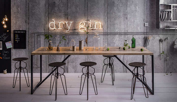 Urban Industrial Kitchen Notonthehighstreet Com