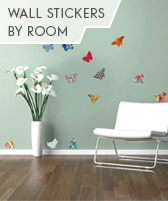 wall stickers by room