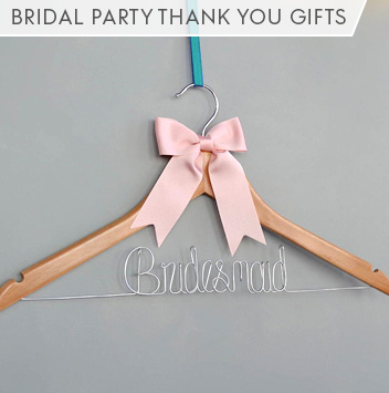bridal party thank you gifts