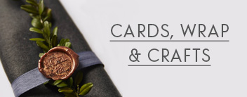 cards, wrap and crafts
