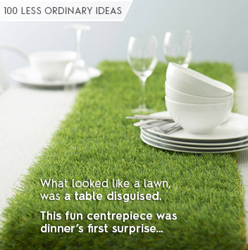 100 less ordinary ideas