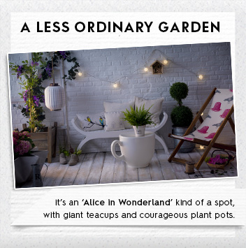 less ordinary garden ideas
