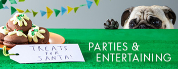 parties and entertaining