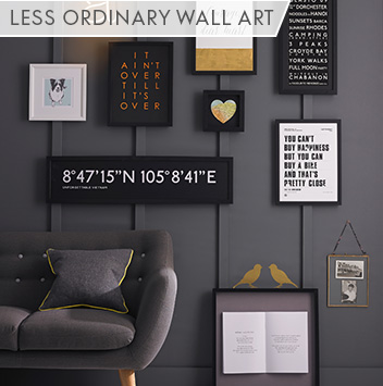 less ordinary wall art