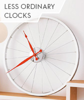 less ordinary clocks