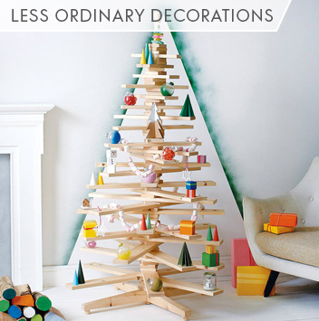 less ordinary decorations