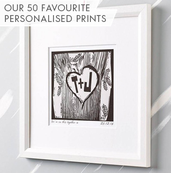our 50 favourite personalised prints