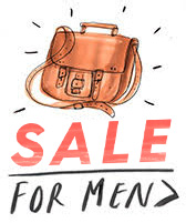 men's fashion sale