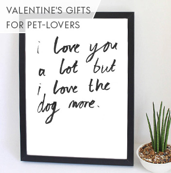valentine's gifts for pet lovers