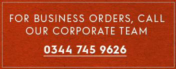 Call our corporate team 0344 745 9626