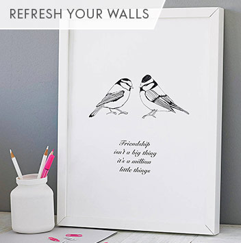 refresh your walls