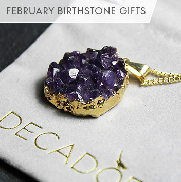 february birthstone gifts