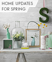home updates for spring