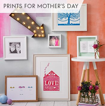 prints for mother's day