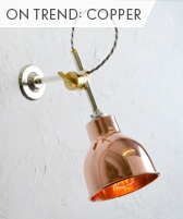 on trend: copper