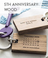 5th anniversary: wood