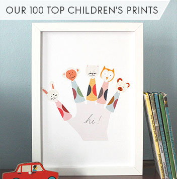 100 favourite children's prints