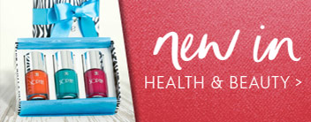 new in health & beauty
