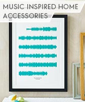 music inspired home accessories