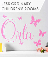 less ordinary children's room