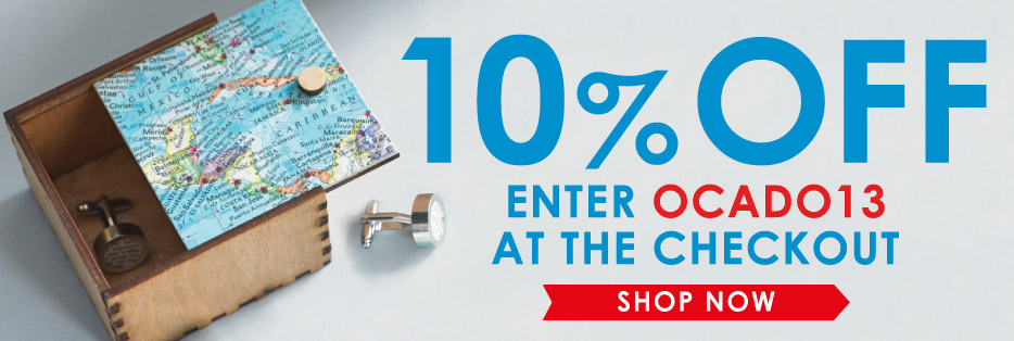 10% off enter ocado13 at the checkout - shop now