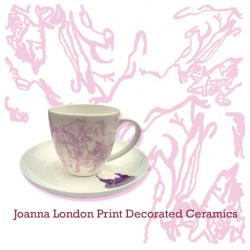 Joanna London Print Decorated Ceramics