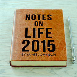 Hope House Press: Personalised Leather Notebook, Journal & Diary Studio