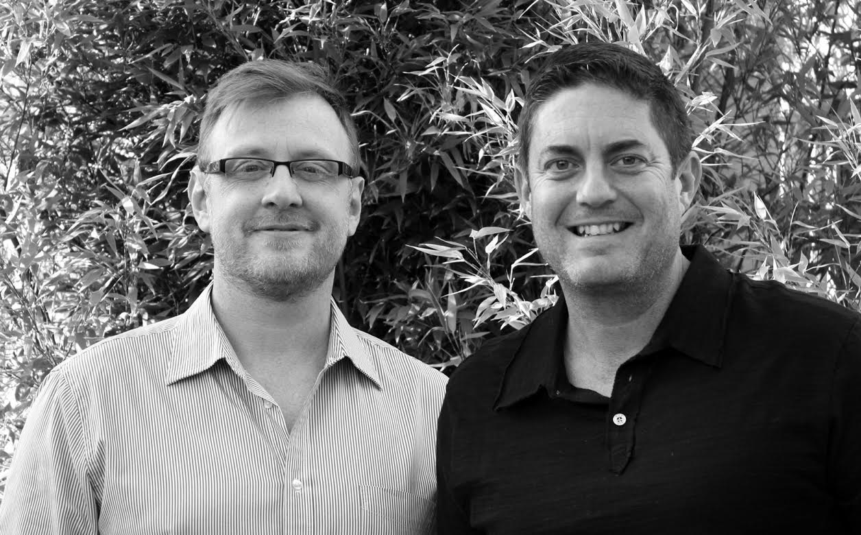 Lee and Jeff - Co Founders of The Rustic Dish