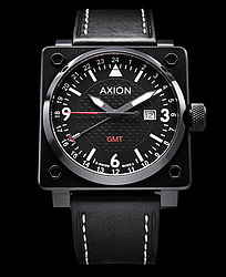 Axion Swiss Dual Time Watches