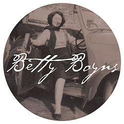 Betty Boyns features on our logo