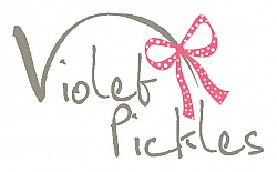 violet pickles logo
