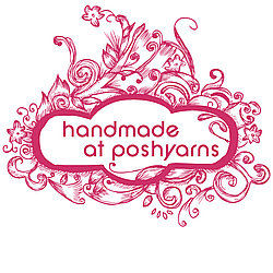 Handmade at Poshyarns, beautiful textile gifts.