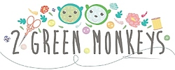 2 Green Monkeys Logo