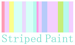 Striped Paint Design