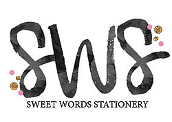 Sweet Words Stationery