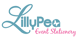LillyPea Event Stationery