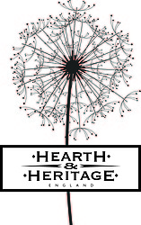 Logo for Hearth and Heritage