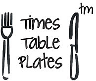 Times Table Plates