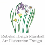 Rebekah Leigh Marshall Art.Illustration.Design