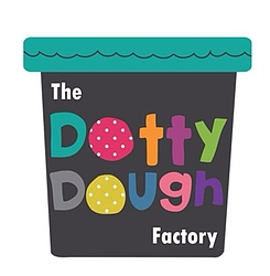 The Dotty Dough Factory Logo