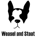 Weasel and Stoat personalised gifts, hand printed in East London