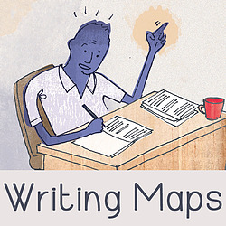Writing Maps logo: Inspiring Stories Everywhere