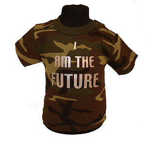 Camouflage 'I Am The Future' Tshirt