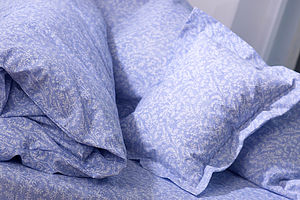 Cotton Lavender Bed Linen: Pillowcase - anniversary gifts