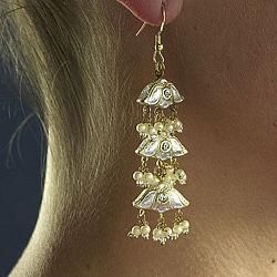 Three Bells Earrings - earrings