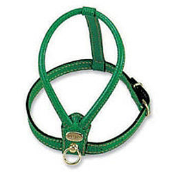 Poochie Amour Leather Dog Harness - dog leads & harnesses