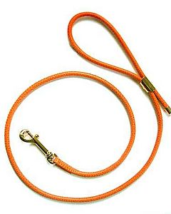 Poochie Amour Leather Dog Lead - dogs