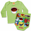 Tea Posh T-Shirt and Nappy Cover Set