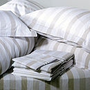 Pavillion Bed Linen: Fitted Sheet