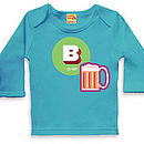 B Is For Beer T Shirt For Baby Boys And Girls
